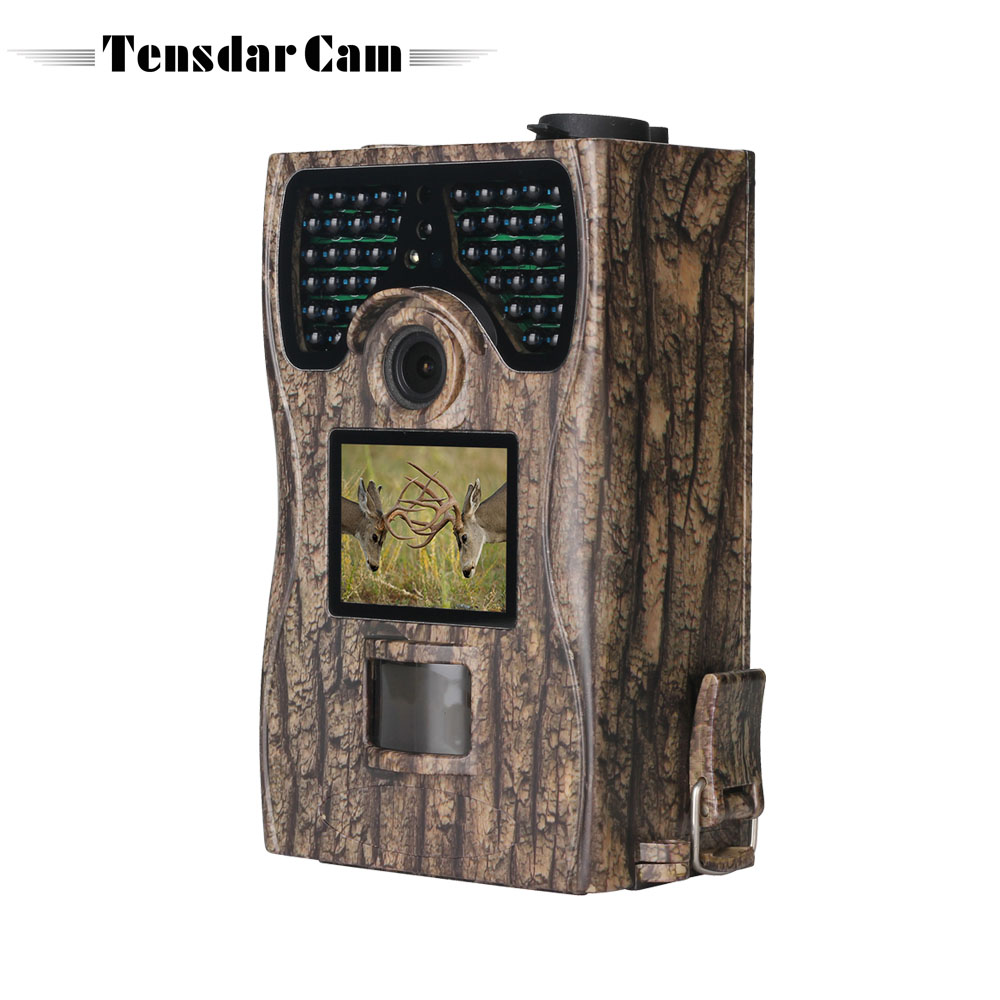 Digital 12MP Hunting Trail Camera Animal Photos Trap 48pcs IR LEDs Night Vision 1080P Scouting Wildlife Game Cameras hunting camera mms gprs 1080p 12mp wild camera wildlife game trail scouting 48pcs leds night vision trail cameras