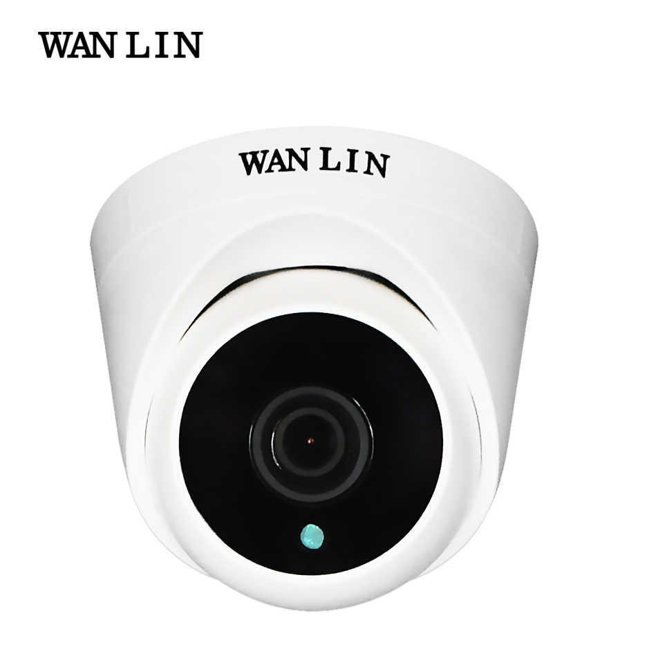 WANLIN 720 p/1080 p SONY IMX323 Full HD 2MP Indoor Mini Plastic Dome AHD Camera CCTV Security Surveillance camera met ARRAY IR