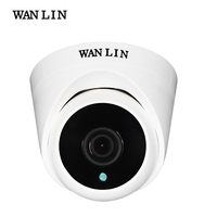 WANLIN 720P 1080P SONY IMX323 Full HD 2MP Indoor Mini Plastic Dome AHD Camera CCTV Security