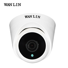 WANLIN 720P/1080P SONY IMX323 Full HD 2MP Indoor Mini Plastic Dome AHD Camera CCTV Security Surveillance Camera with ARRAY IR