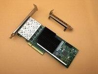 4 Порты и разъёмы SFP + 10 г pcie x8 LC Волокно Ethernet Converged Network Adapter NIC X710 DA4 Бесплатная доставка