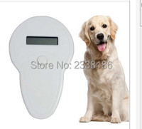 Free Shipping ISO FDX B Pet RFID Chip Reader OLED Display Portable Animal Microchip Scanner For