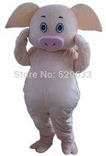Pig mascot costumes for sale Fancy Dress Outfit Free shipping
