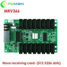 HD led écran daffichage led carte de réception Novastar MRV366, grande zone de contrôle Novastar carte de réception MRV366 512x256 pixel