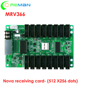 Image 1 - หน้าจอ led HD led จอแสดงผลรับการ์ด Novastar MRV366, big พื้นที่ควบคุม Novastar รับการ์ด MRV366 512x256 พิกเซล