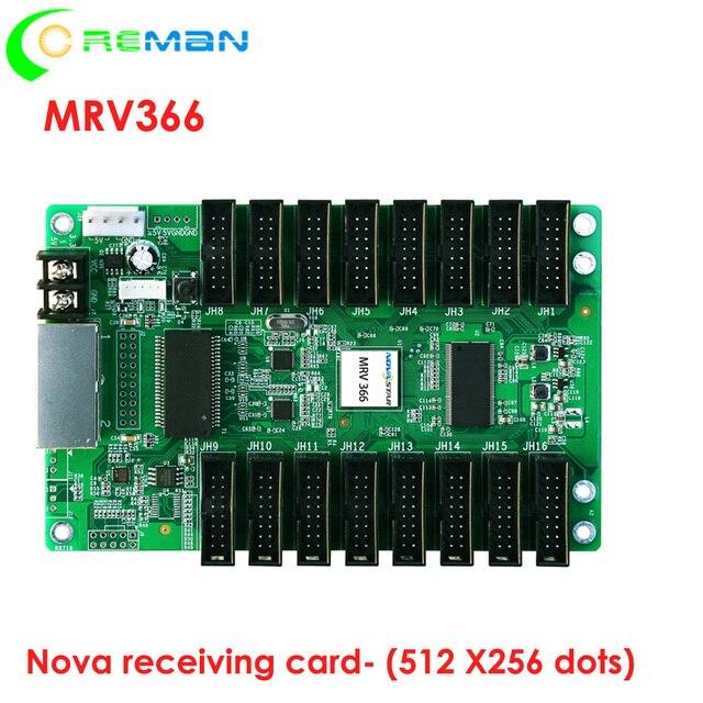 หน้าจอ led HD led จอแสดงผลรับการ์ด Novastar MRV366, big พื้นที่ควบคุม Novastar รับการ์ด MRV366 512x256 พิกเซล