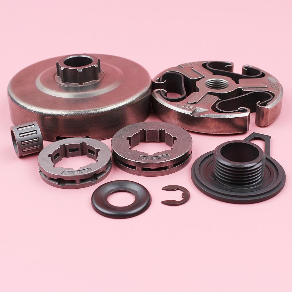 Clutch Drum Sprocket Washer Set Parts For Husqvarna 365 362 371 372 XP Chainsaw