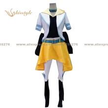 Kisstyle Мода UTA не принц-сама Нацуки shinomiya желтый Униформа COS Костюмы Косплэй костюм, индивидуальные принимаются