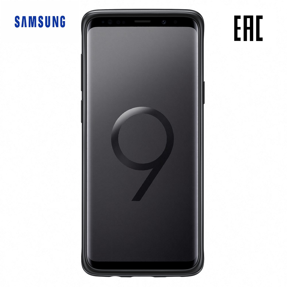 Case for Samsung Protective Standing Cover Galaxy S9+ EF-RG965C Phones Telecommunications Mobile Phone Accessories mi_1000005476