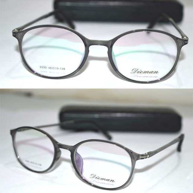 Optical Custom made optical lenses TR90 New material Memory full rim ...