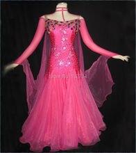 Tailor-Made big discounts  Modern Waltz Tango Ballroom Dance Dress, Smooth Ballroom Dress,Standard Ballroom Dress Girls B-0012