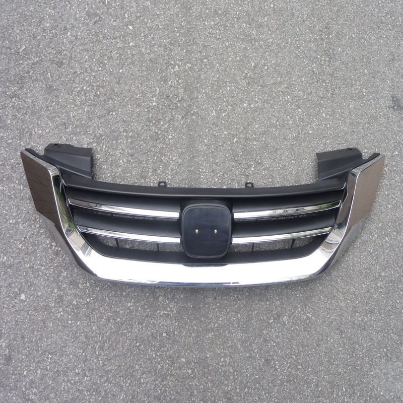 Aliexpress Com Buy Chrome Front Upper Grill Grille For: 1 Pcs New Front Bumper Chrome Upper Grille Grill For Honda