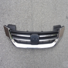 1 Pcs High Quality Chrome Front Upper Grill Grille for Honda Accord 2013-2015 1set chrome front upper