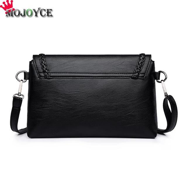 Women Solid Sling Crossbody Handbags PU Leather Ladies Small Shoulder Messenger Bags Female Pure Color Casual Soft PU Handbag 1