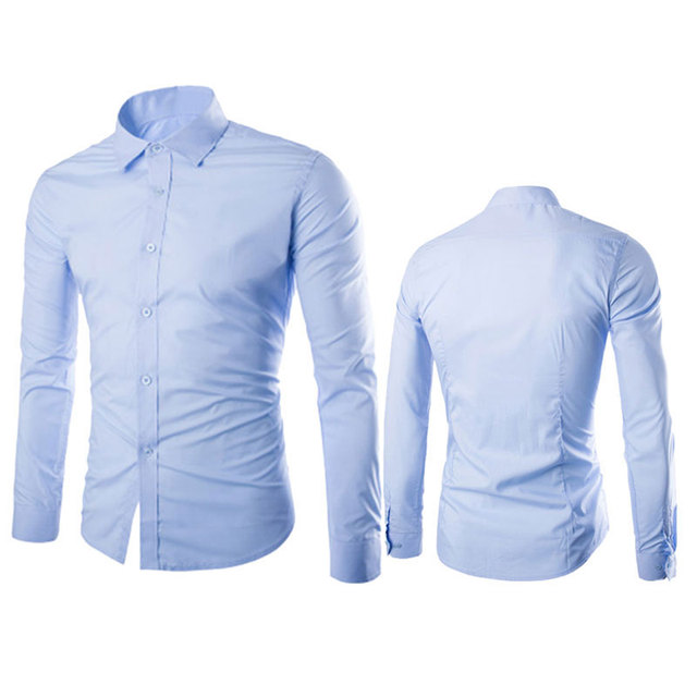 New Fashion Reserved Shirts Men T-shirts / Shirts color: Army Green|athens blue|Black|blackish green|Coffee|fruit green|Khaki|Light Blue|light gray|Navy|Pink|Purple|Rose Red|White|wine