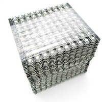 100 ~ 100 0 stücke WS2812B WS2812 LED Chip PCB Kühlkörper DC 5 v 5050 RGB WS2811 IC Eingebaute
