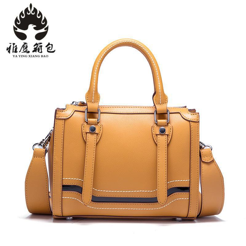 Casual Women Soft Genuine Leather Handbag Female Shoulder Bag Messenger Bag Larger Size Women Bag genuine leather female handbag autumn bag large size women shoulder bag daily vintage women bag causal bag