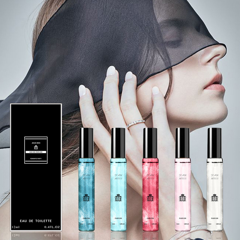 Women Deodorant Fragrance Atomizer Spay Long-lasting Elegant Refreshing Flower Aromatic Water 12ml