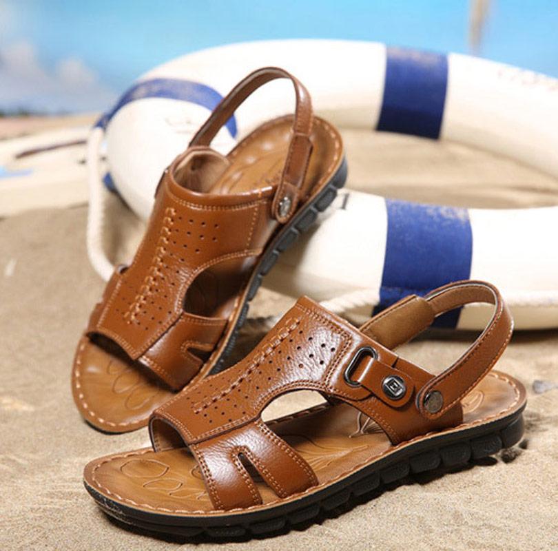 2018 men sandals new summer shoes beach shoes men casual shoes outdoor non-slip Plus Size sandals men zapatos hombre