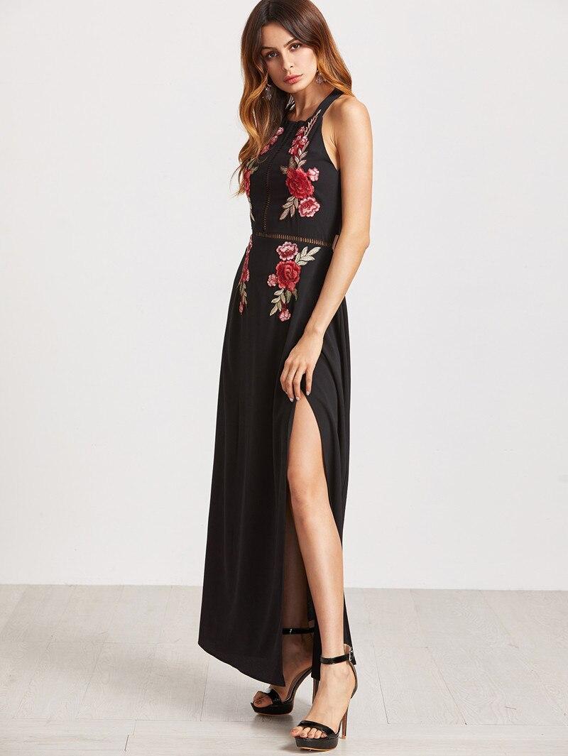 HTB10pwmPpXXXXcHXpXXq6xXFXXXX - FREE SHIPPING Party Dresses Black Rose Embroidered  JKP334