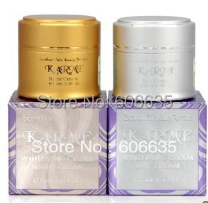 Image 2 - KARME Whitening day cream+night cream+skin care with samll sample anti spot fade out freckle