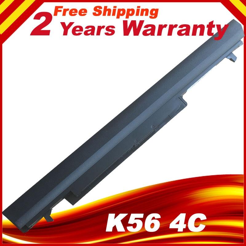4 Cells Laptop Battery For Asus A31-K56 A32-K56 A41-K56 A42-K56 K56C K56CA K56CB K56CM K56V A56C A56CM A56V Series