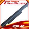 Batterie d'ordinateur portable pour asus K56C K56CA K56CB K56CM K56V A56C A56CM A56V Série A31-K56 A32-K56 A41-K56 A42-K56