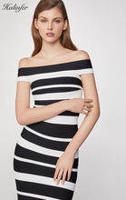 Halinfer 2019 new summer  women long dress sexy bodycon slash neck bandage formal homecoming party black dresses vestidos