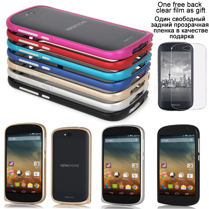 New For Yota Phone 2 Case Luxury Ultra thin Metal Aluminium Frame - Mobile Phone Accessories and Parts