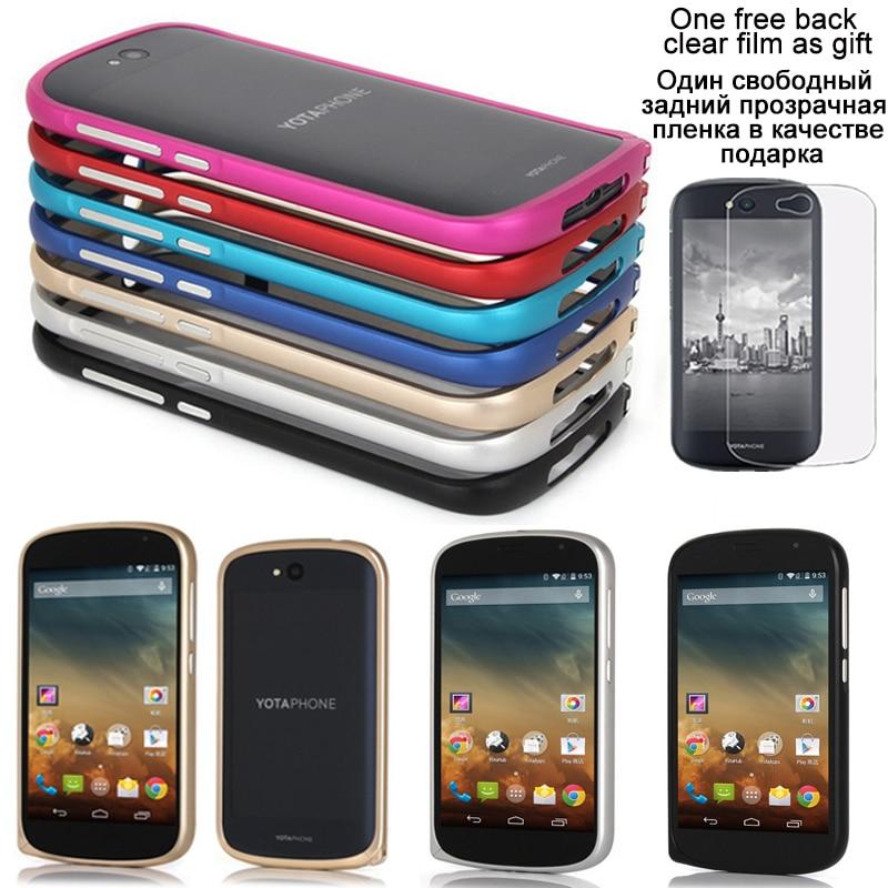 Nytt för Yota Phone 2 Fodral Lyx Ultratunn metall Aluminium ram - Reservdelar och tillbehör för mobiltelefoner