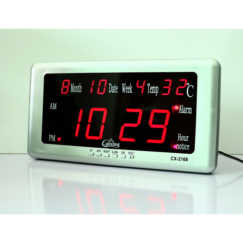 led desk wall digital alarm clock electronic clocks with temperature calendar date week display big digital office clocks d0 clocks