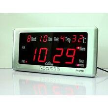 LED Desk font b Wall b font Digital Alarm font b Clock b font Electronic Alarm