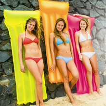 Inflatable Mattress Float-Bed Swimming-Ring Hot Relax Fluorescent INS New
