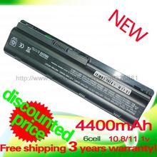 4400 mAh batería para HP Compaq Presario CQ32 CQ42 CQ43 CQ56 CQ62 CQ72 MU06 PAVILION DM4 DV3 DV5 DV6 DV7 G4 G6 G7 G72 G62 G42