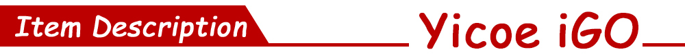 YICOE-IGO商品描述