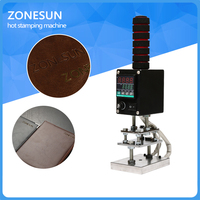 Handheld Hot Foil Embossing Stamping Machine Branding Machine Leather Printer Creasing Machine Marking Press On Wood