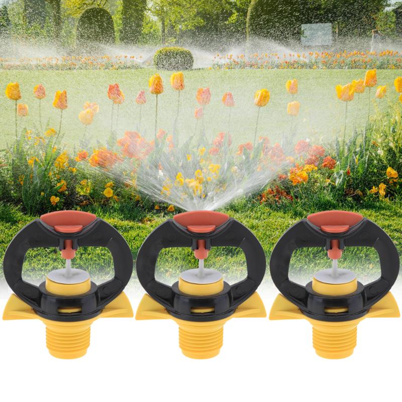 Butterfly Type 1/2 Thread 360 Degree Rotating Nozzle Sprinklers Garden Irrigation Accessaries For Gardening Agricultural