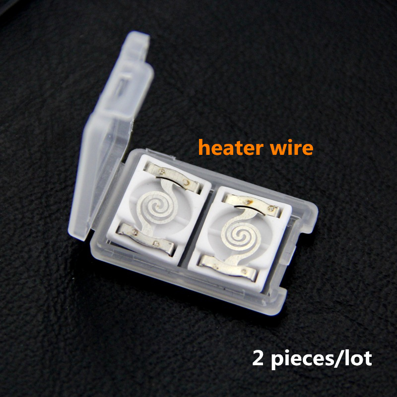 Hot Sales 2 Pieces/lot Heater Wire Tungsten Wire For Cigarette Lighter USB Electric Lighter Plasma Lighter Smoking Accessories
