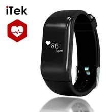 Модные трекер R1 Напульсники Smart Band BT4.0 сердечного ритма Мониторы шагомер SMS Re Mi ND для iPhone Android pk Ми Группа 2