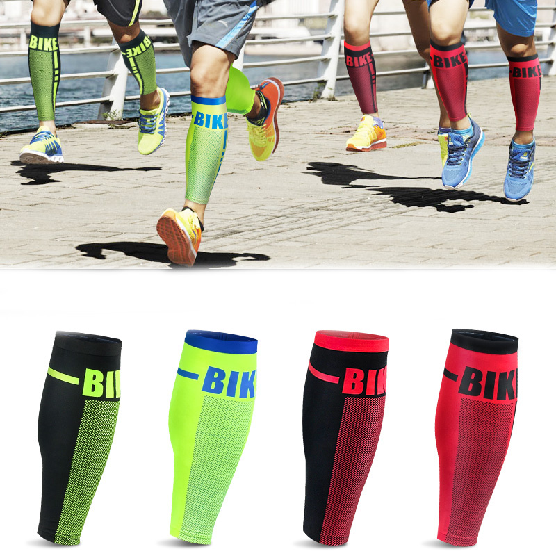 2 Pcs Professional Sport Soccer Football Shin Protector Breathable Calf Compression Shin Guard Sport Safety Guard Leg Sleeves