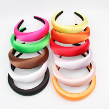 Solid Color Plastic Hair Hoop