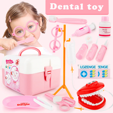 13pcs Doctor Play Toys Set Doctora Juguetes for Child Medical Kit Baby Educational Box Light Role Pretend Classic Gift