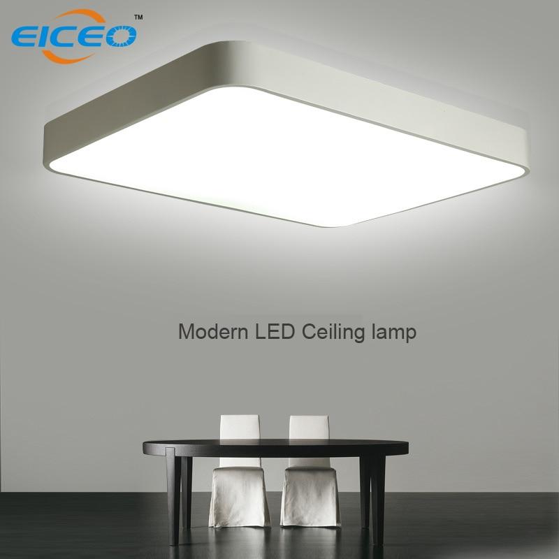 (EICEO) LED stropní lampa Obývací pokoj Moderní dálková světla pro stmívatelné stropní lampy z akrylového hliníku zdarma