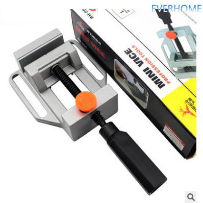 Fast DIY Mini vise clamp clamp tool ,free shipping free shipping huk 360rotate alloy adjustable locksmith tool softcover type practice lock vise clamp for beginner