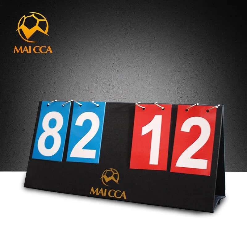 Placar de Basquete Placar de Futebol para o Futebol Placares de Esportes Maicca Dígitos Andebol Voleibol Tênis Dobráveis 4