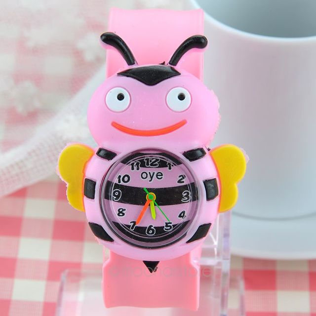 Kids Children Rubber Quartz Slap Wrist Watch Fashion Boys Kids Students Slap Wat