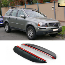 Car-Styling FOR Volvo XC90 AU From 2002 to 2014 rearview mirror rain eyebrow Rainproof Flexible Blade Car Styling