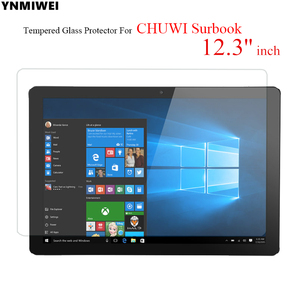 Glass Protector For CHUWI Surbook Tablet 12.3 inch Tempered Glass Film For SubBook Glass Protective Films(China)