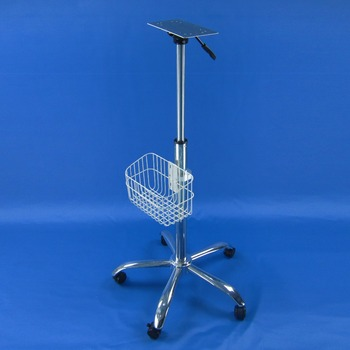 Medical trolley rollling stand gas lifter