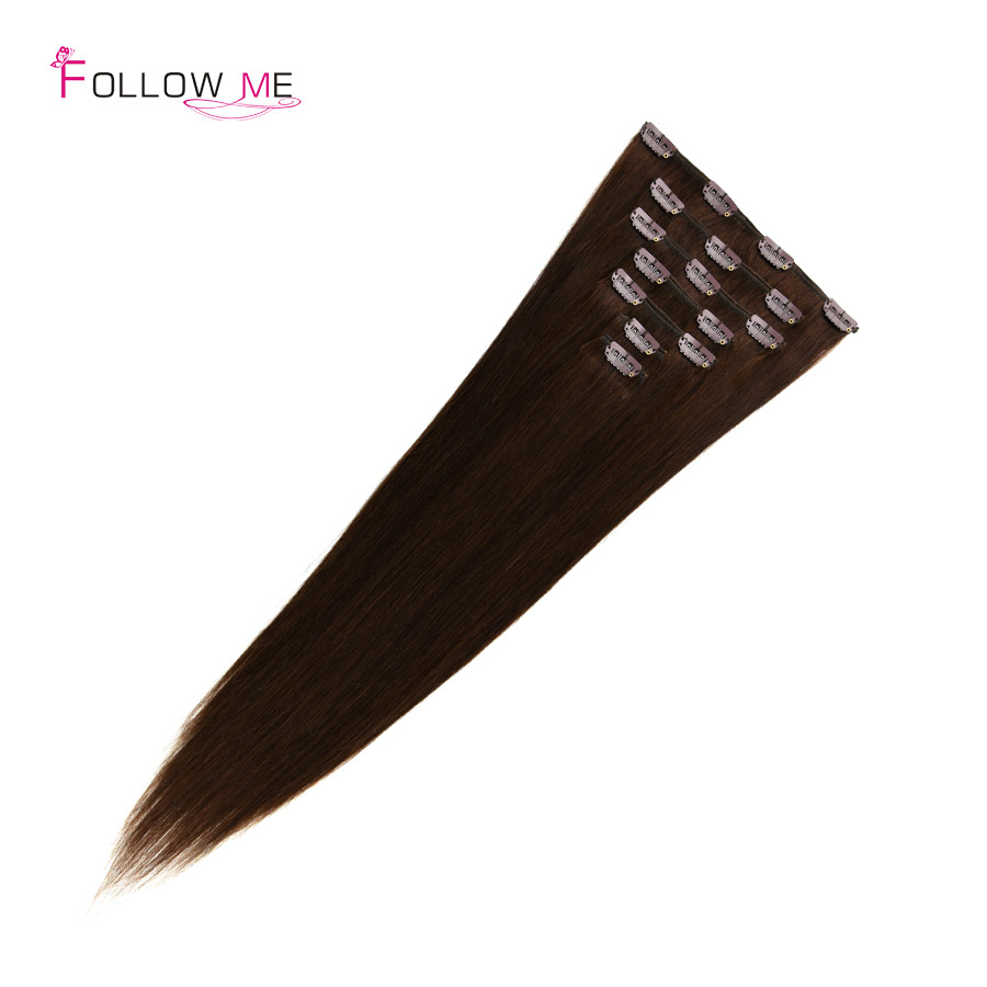 human hair clip in extensions (7)
